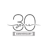 Thirty years anniversary