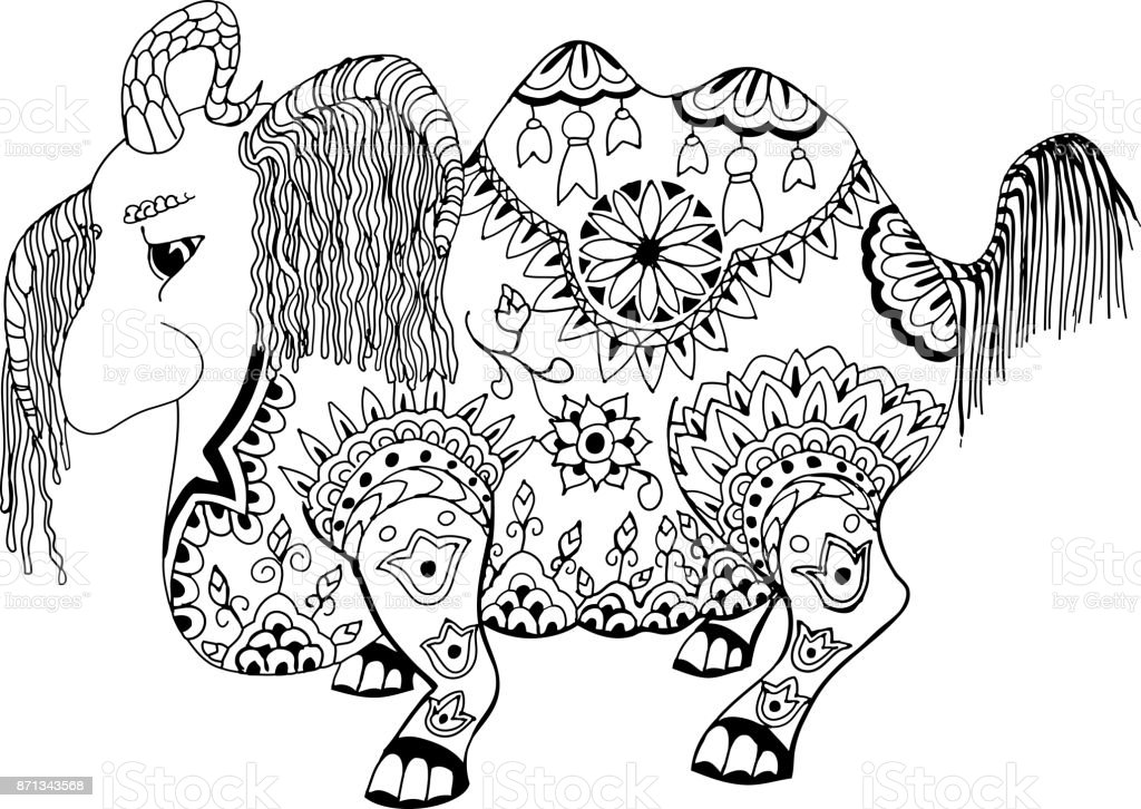 Ilustración De Este Animal Se Llama Loshara Que Todo Lo Arrastra En