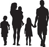 This Family Vector Silhouette