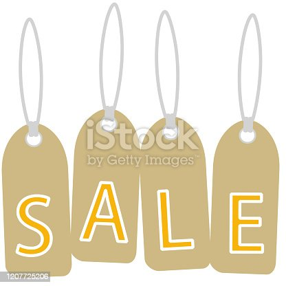 579751386 istock photo This illustration is a SALE tag image. 1207725206
