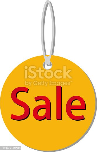 579751386 istock photo This illustration is a SALE tag image. 1207725208
