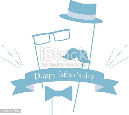 579751386 istock photo This illustration is an image imagining Father's Day. 1207897269