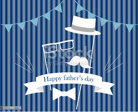 579751386 istock photo This illustration is an image imagining Father's Day. 1207897274