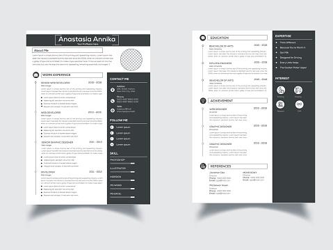 This is a Elegant, Clean Resume/CV