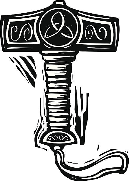 Royalty Free Thor Hammer Clip Art Vector Images Illustrations