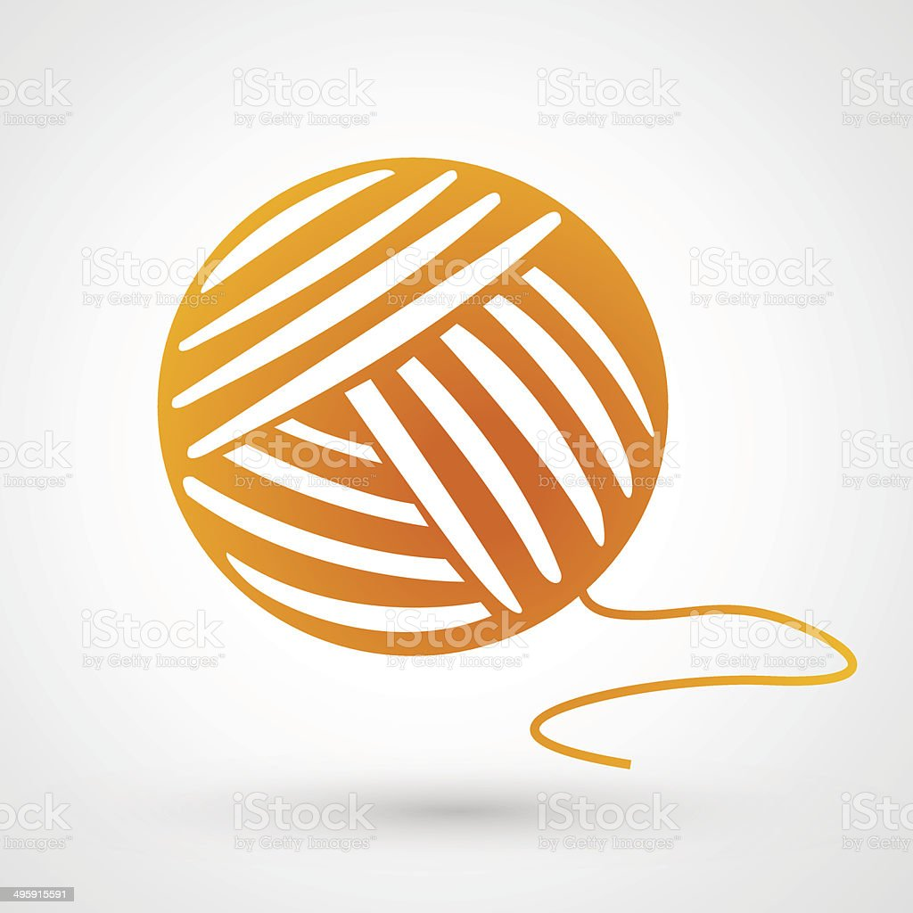 Thread icon royalty-free stock vector art