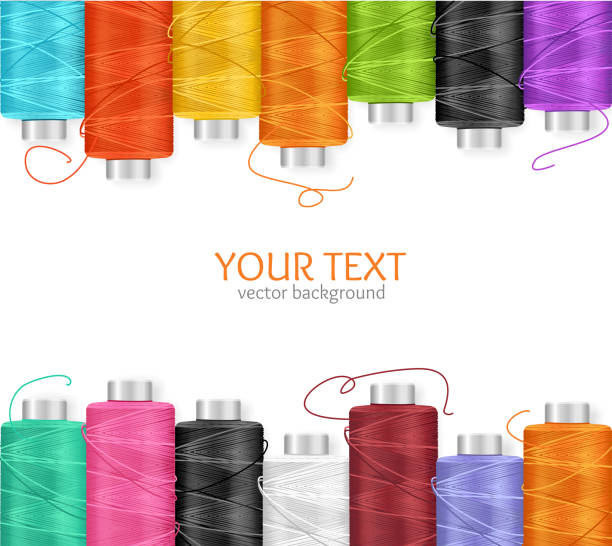 Royalty Free Spool Of Thread Clip Art, Vector Images & Illustrations ...