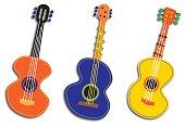 istock Three Abstract Guitars 481704544