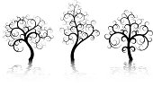 Three Abstract Trees