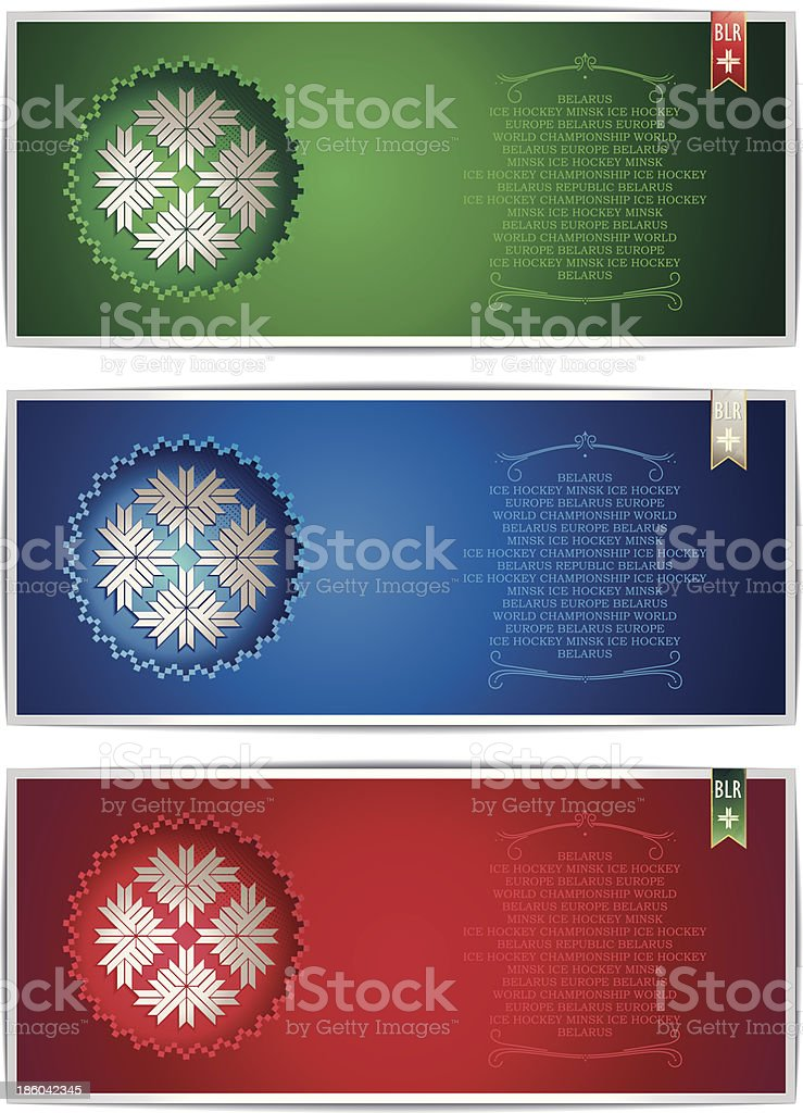 Three Belarus vertical banners with traditional star royalty-free three belarus vertical banners with traditional star stock vector art & more images of allegory painting