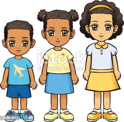 istock Three Children (African Descent) 165626502
