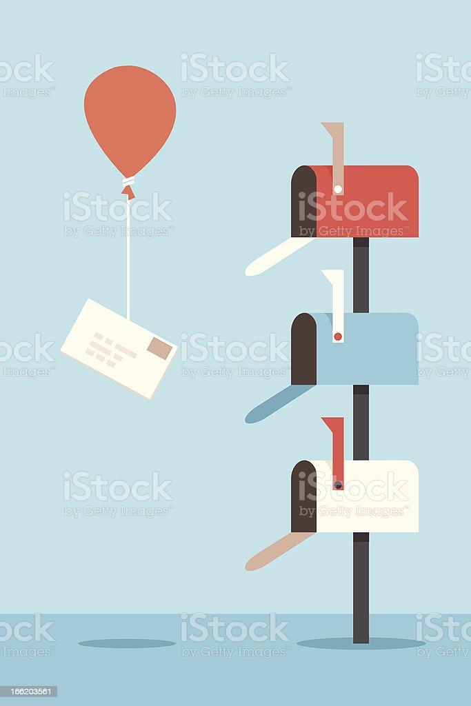 mail-box – Vektorgrafik