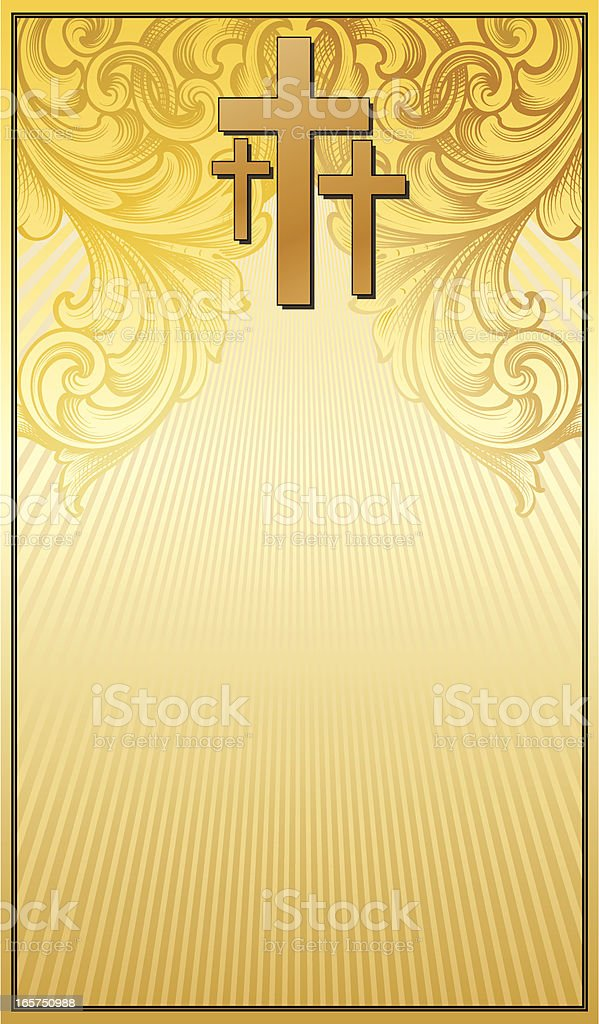 Three Cross Banner royalty-free three cross banner stock vector art & more images of 2000-2009