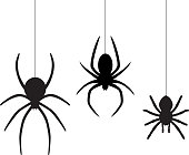 Glowing neon line Spider web icon isolated on black background. Cobweb sign. Happy Halloween party. Colorful outline concept. Vector.