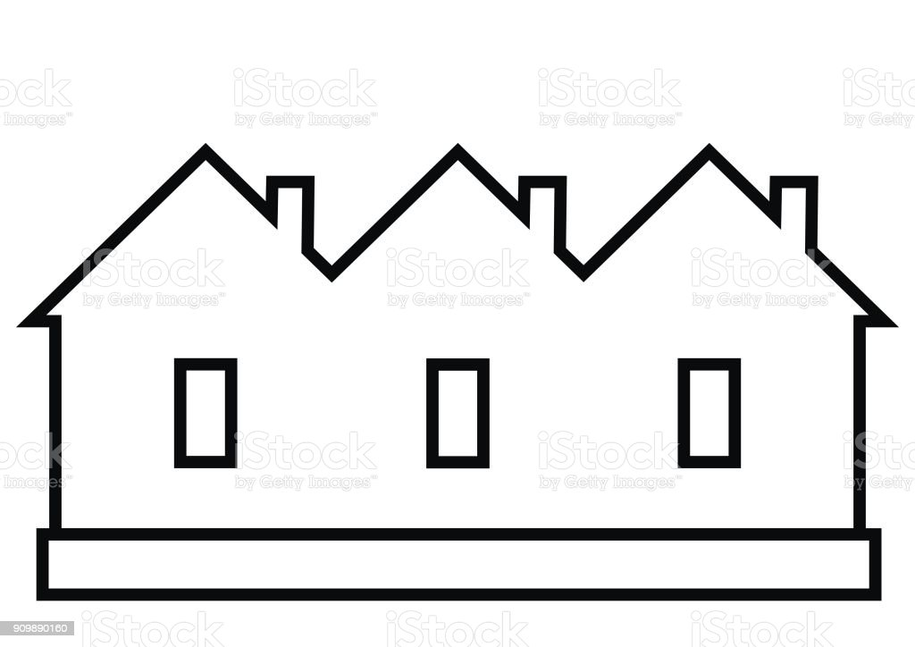 royalty free row house clip art vector images illustrations istock rh istockphoto com house images clip art black and white home clipart black and white
