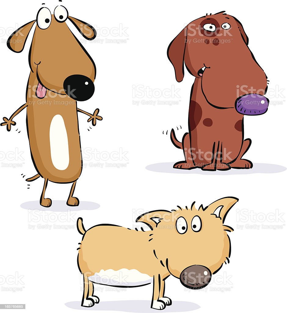 Three dogs royalty-free three dogs stock vector art & more images of animal