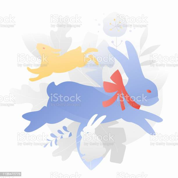 Three easter rabbits decorative composition vector id1135472773?b=1&k=6&m=1135472773&s=612x612&h=gltknzbkzcfcrbgticru6hjadv3q cjvyxawbdv1h0o=
