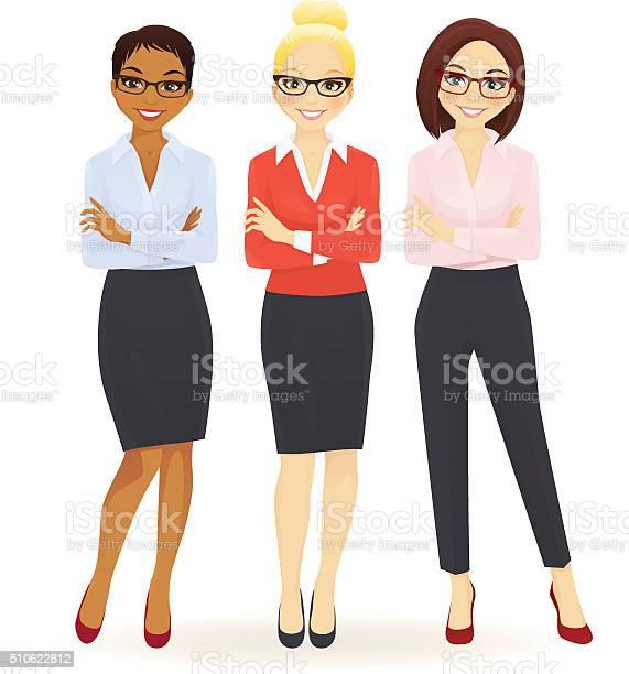 Three elegant business women vector id510622812?b=1&k=6&m=510622812&s=612x612&h=zzbz7onga6iamdy9ordb12f5j5vfoy71e71smdpjgrs=