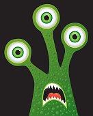Three eyed Monster