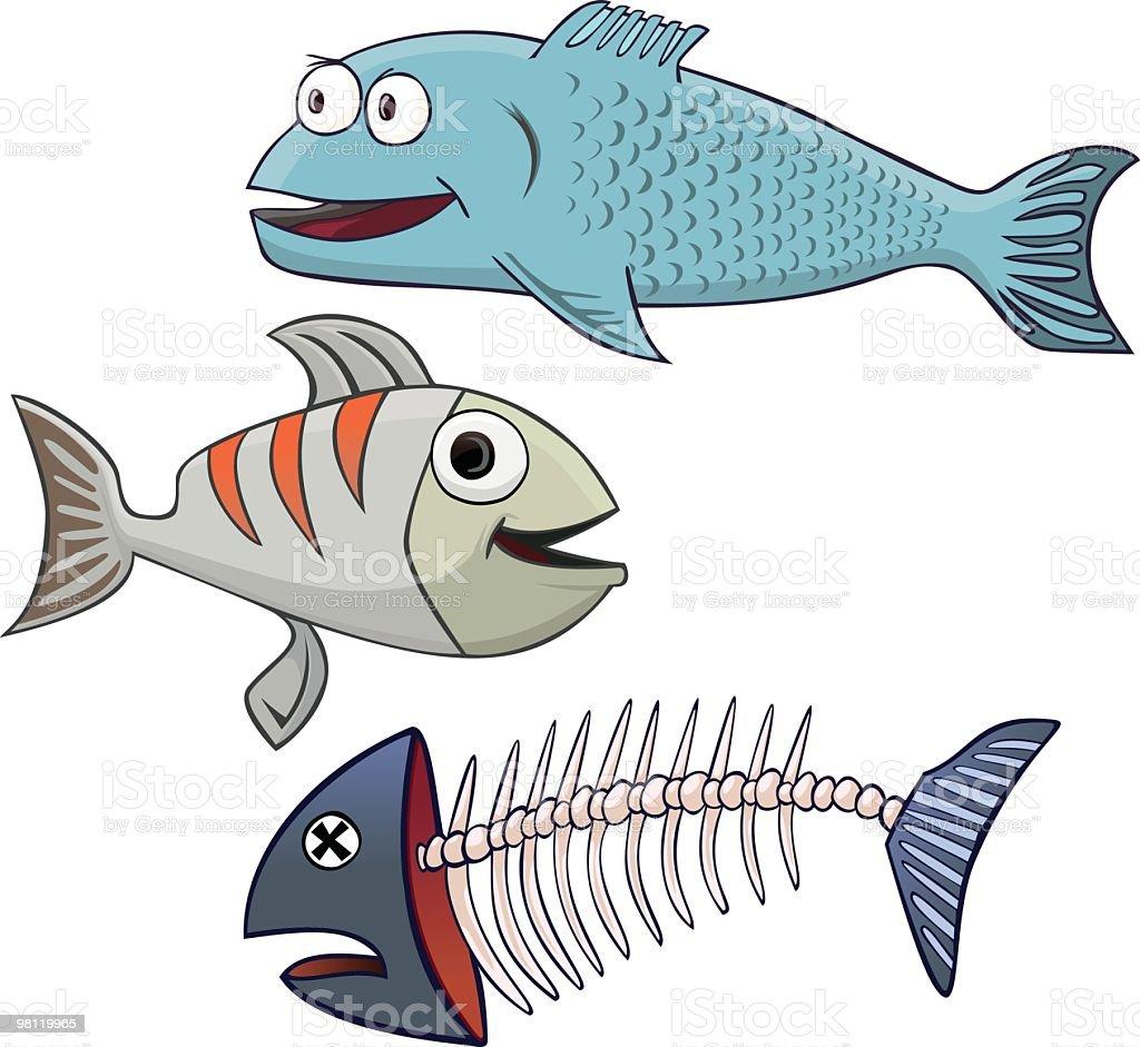 three fish royalty-free three fish stock vector art & more images of animal exoskeleton