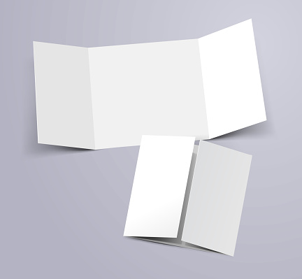 three fold template