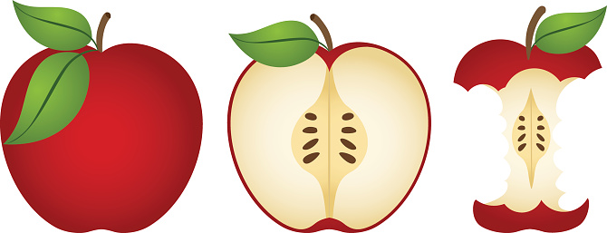 Free Download Of Apple Core Clip Art Vector Graphic