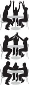 Three friends at coffee tablehttp://www.twodozendesign.info/i/1.png