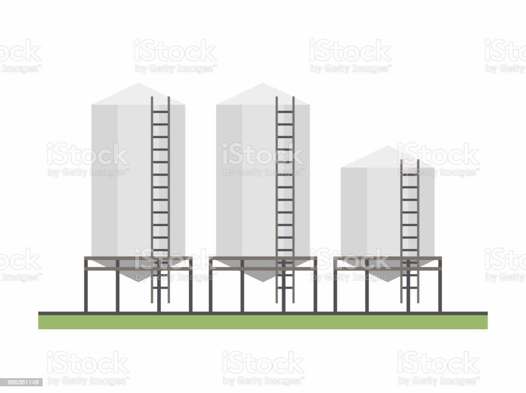 Three Granary three granary - stockowe grafiki wektorowe i więcej obrazów architektura royalty-free