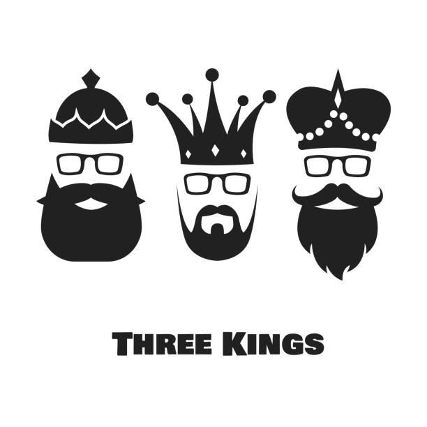 ilustrações de stock, clip art, desenhos animados e ícones de three kings. - reis magos