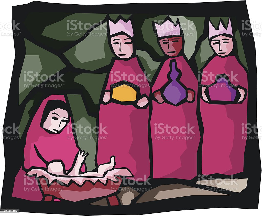 Three Kings royalty-free three kings stock vector art & more images of admiration