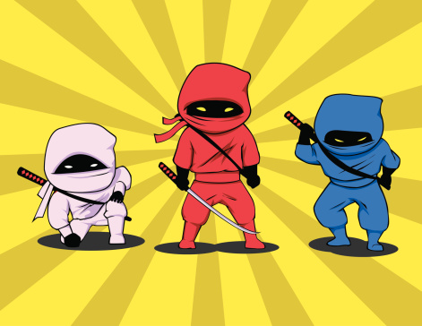 Three Little Ninjas