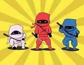 istock Three Little Ninjas 165612054