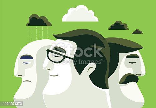 istock three man thinking differently 1194251370