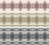 seamless ornamental frames (African or Moroccan style).  4572×4190 JPG included. http://i161.photobucket.com/albums/t234/lolon5/seamless.jpg