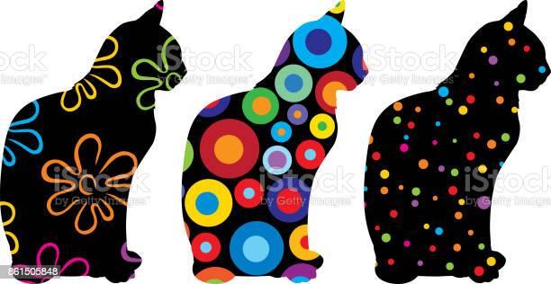 Three patterned cats 3 vector id861505848?b=1&k=6&m=861505848&s=612x612&h= rbr2wg9ff5p9ku63ltg1lznw5wzjbdosttciedhvoq=