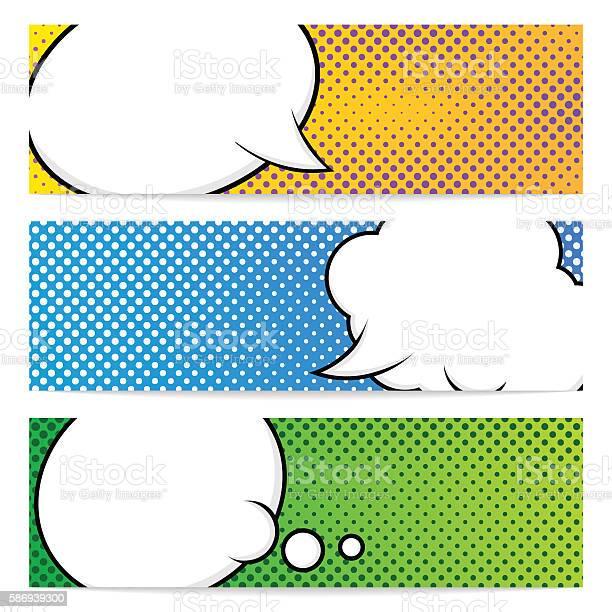 Three pop art banners template vector id586939300?b=1&k=6&m=586939300&s=612x612&h=of522rimv gjvckcxsana8fqhistxbwxwml9j pwgdc=