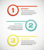 Three steps for progress vector