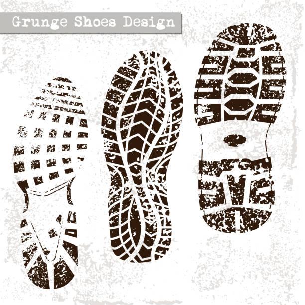 Shoe Print Vector Art Graphics Freevector Com