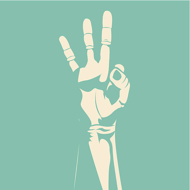 Best Sign Language Alphabet Illustrations, Royalty-Free