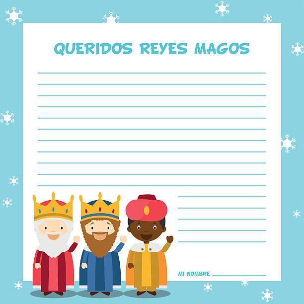 drei weise männer buchstabe vorlage, vektor-illustration für weihnachten - buchstabenschreibweise stock-grafiken, -clipart, -cartoons und -symbole