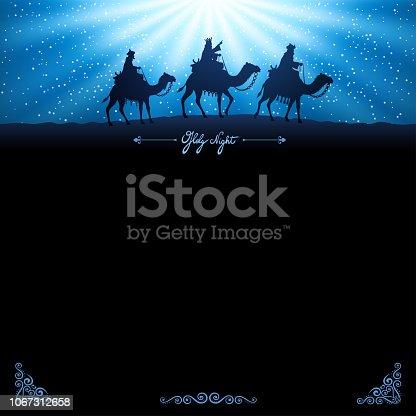 istock Three wise men - three kings 1067312658