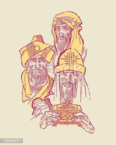 istock Three Wise Men 1328204311