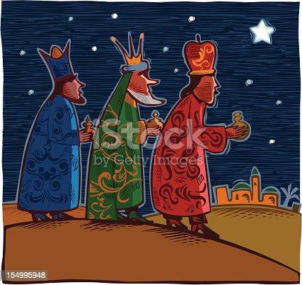 istock Three wise men 154995948