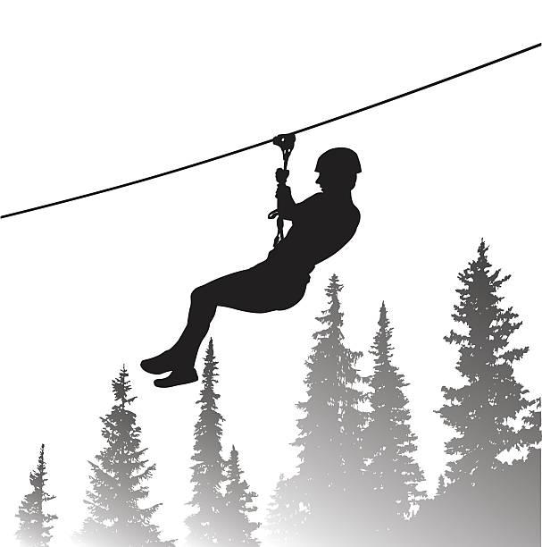 Zipper Line Art : Royalty free zip line clip art vector images