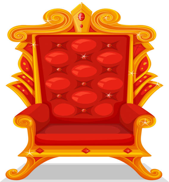 Royalty Free Throne Clip Art, Vector Images ...