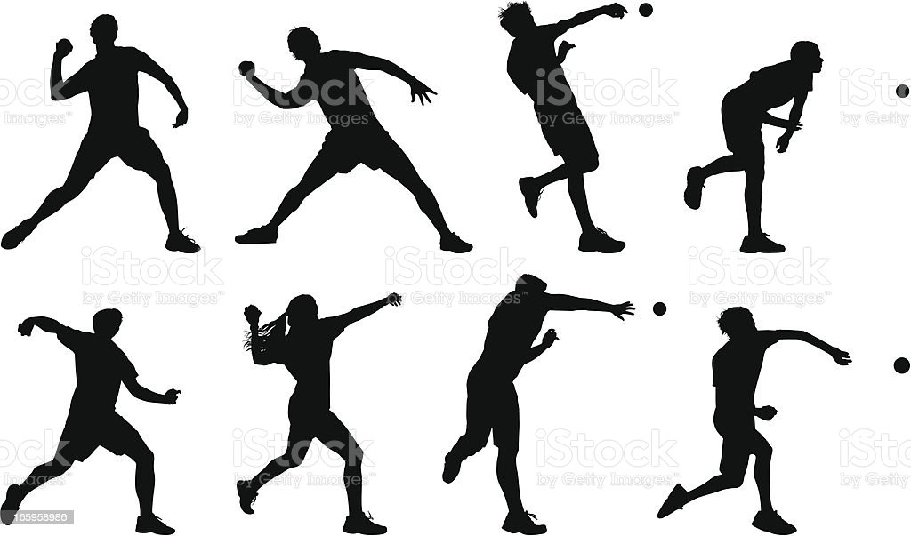 Throw royalty-free throw stock vector art & more images of ball
