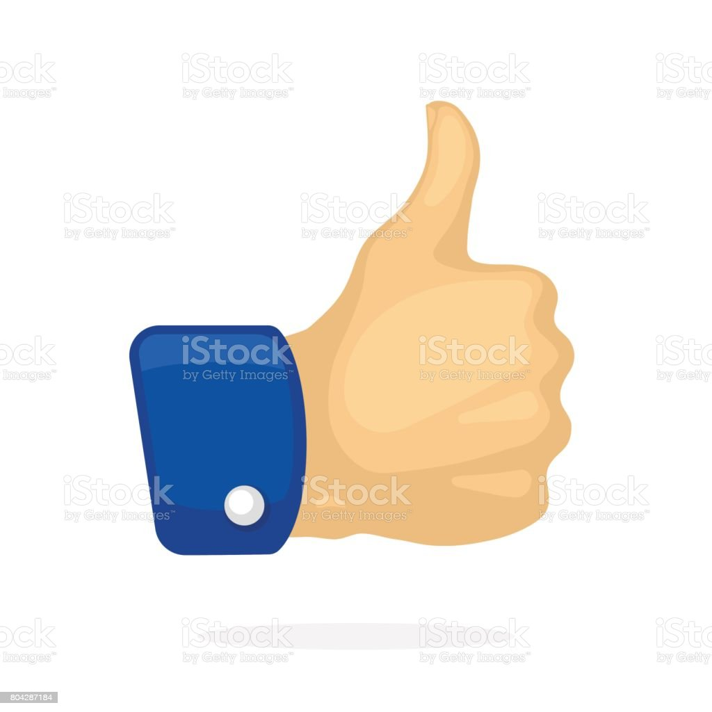 Thumb Up Symbol Of Like Stock Vector Art More Images Of Agreement