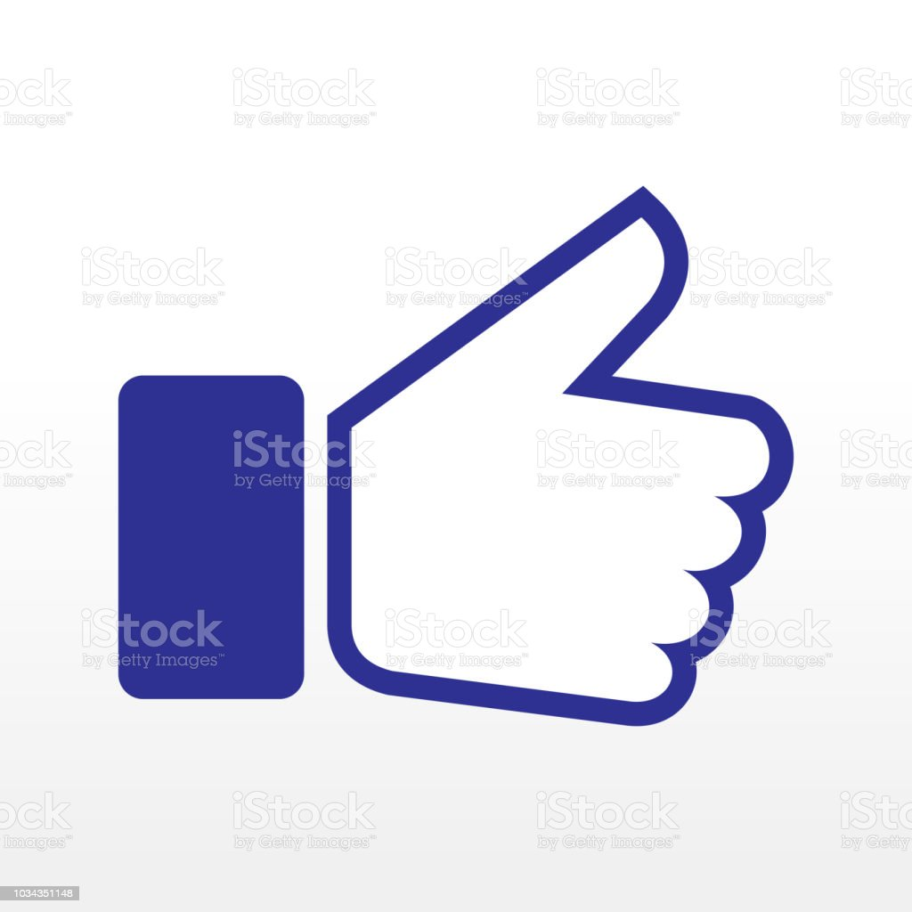 Thumb Up Symbol Vector Stock Vector Art More Images Of Abstract