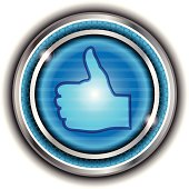 istock Thumbs Up Button 166010968