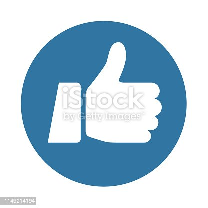 Thumbs Up Icon - Like